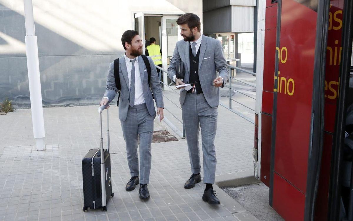 Messi et Piqué sont lapin
