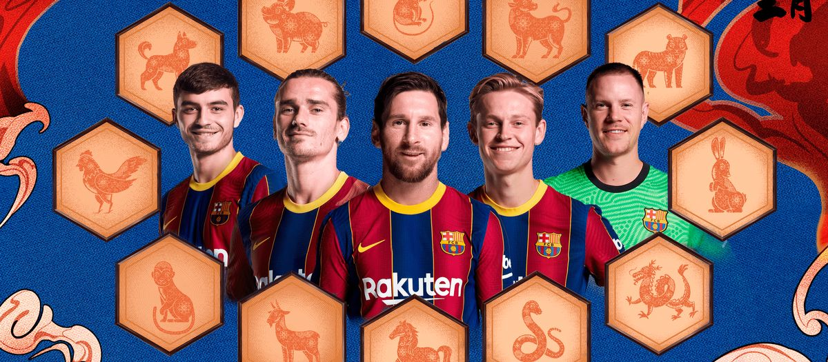 How much do you know about the Chinese zodiac and the Barça players?