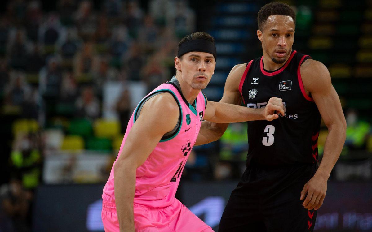 Retabet Bilbao Basket 73-90 Barça: Solid victory