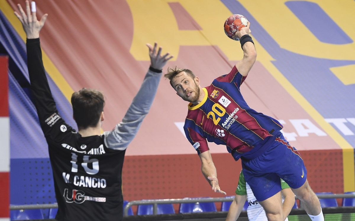 Barça 40-23 Helvetia Anaitasuna: No concessions on Palau return