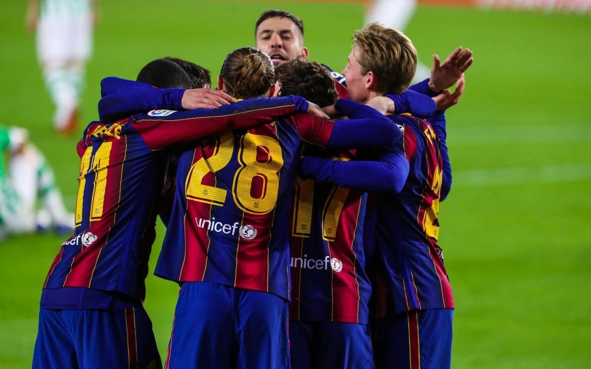 Sisena victòria consecutiva a la Lliga