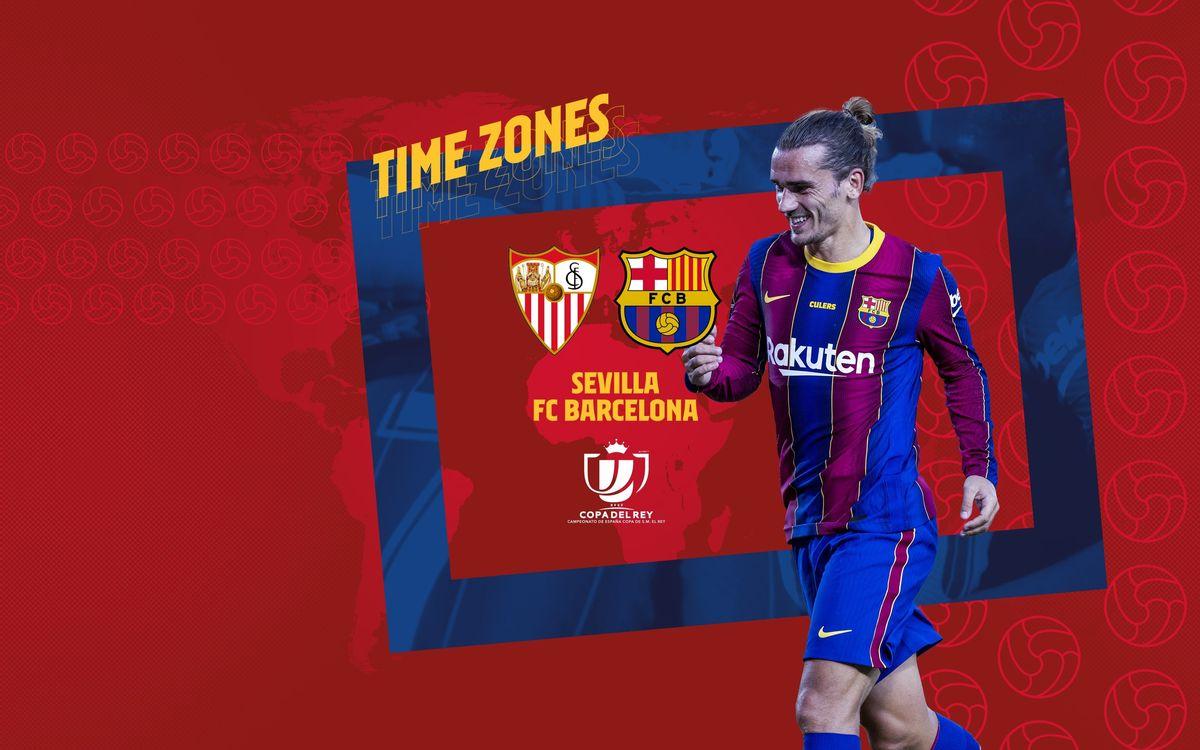 Où et quand voir Séville - Barça