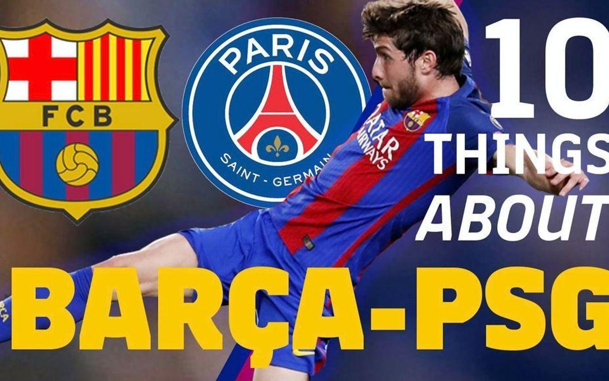 FC バルセロナ- PSGについて知っておくべき10のこと