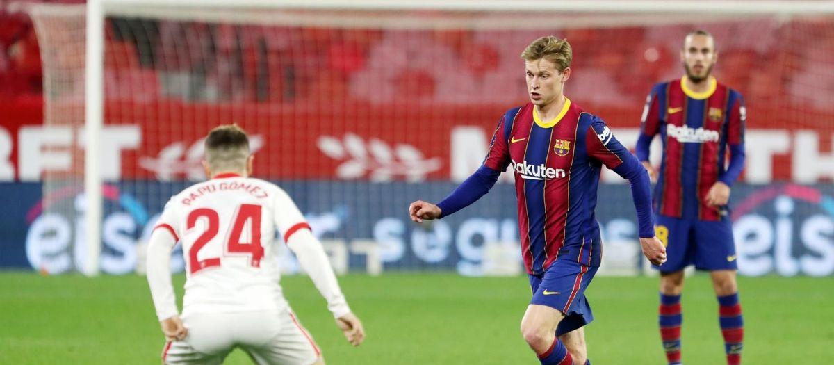 Sevilla - FC Barcelona: Primero, abrir distancia en Liga; después, la Copa