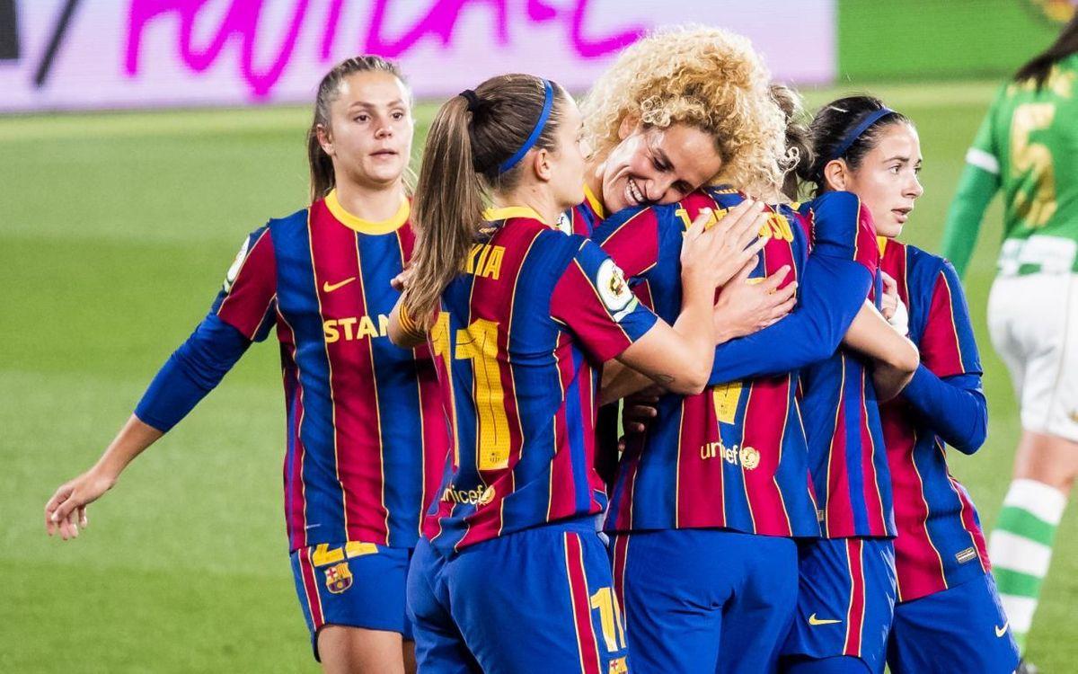 Barça - Betis: Goleada antes de la final de Copa (6-0)