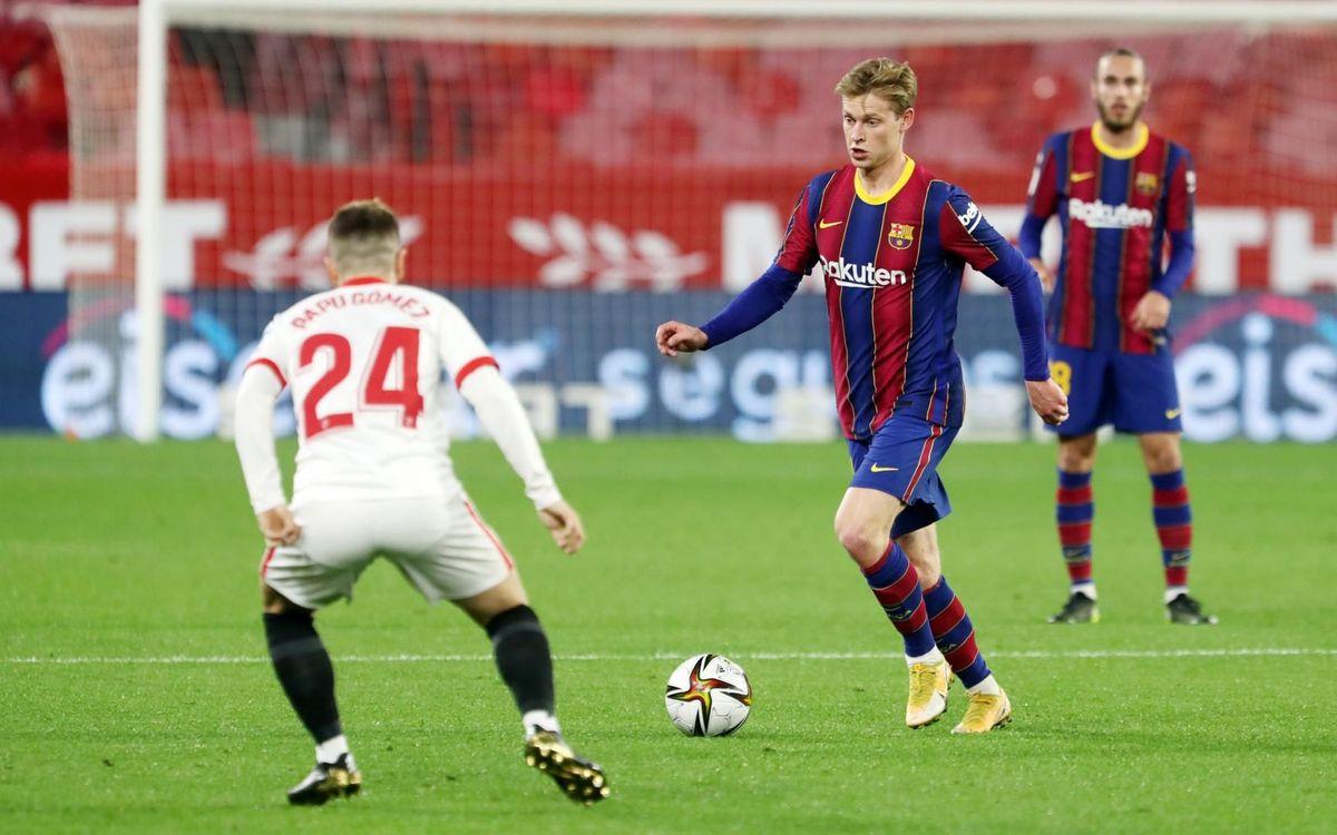Sevilla 2-0 Barça: All to do in the second leg