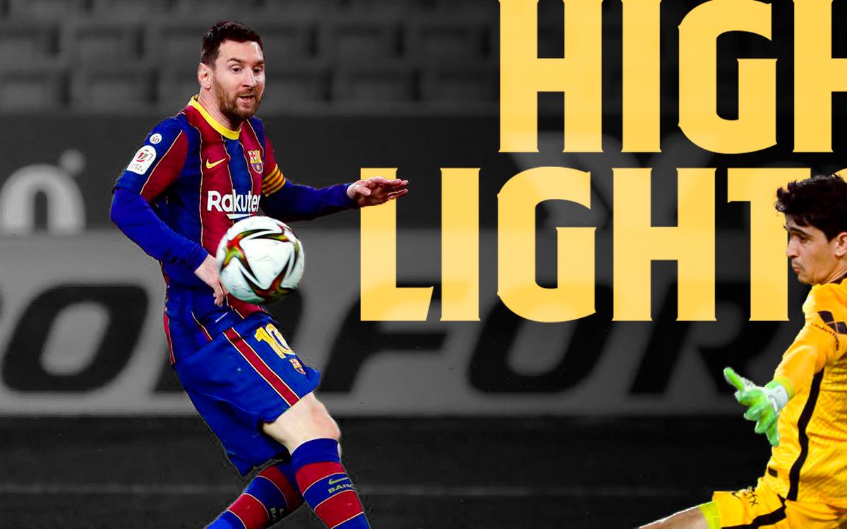 Les moments forts de Séville - Barça