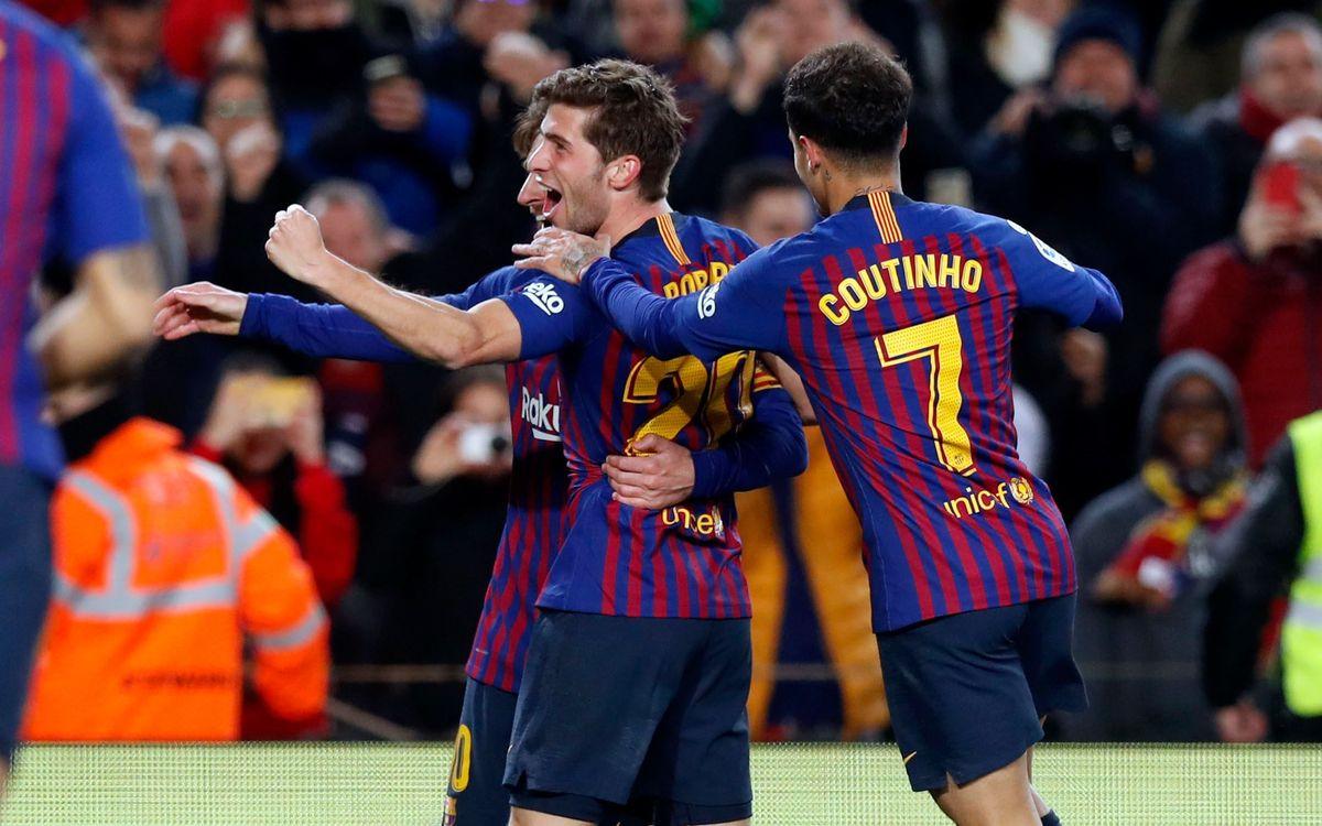 La dernière fois que le Barça a perdu 2-0 au match aller à Séville