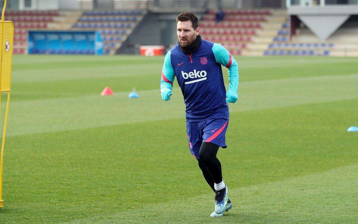 Preparation continues for game against Alavés