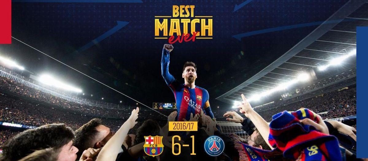 La remontada contre le PSG, plus beau match de l'histoire