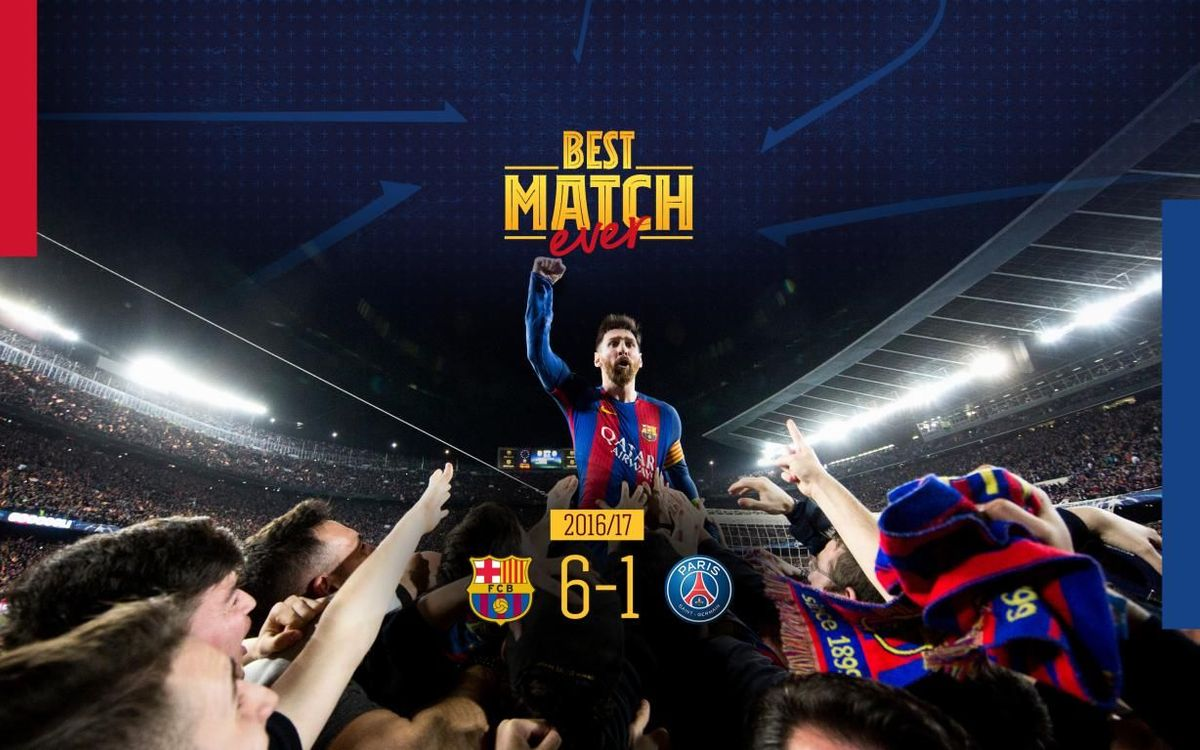 6-1 turnaround against PSG named Best Match Ever