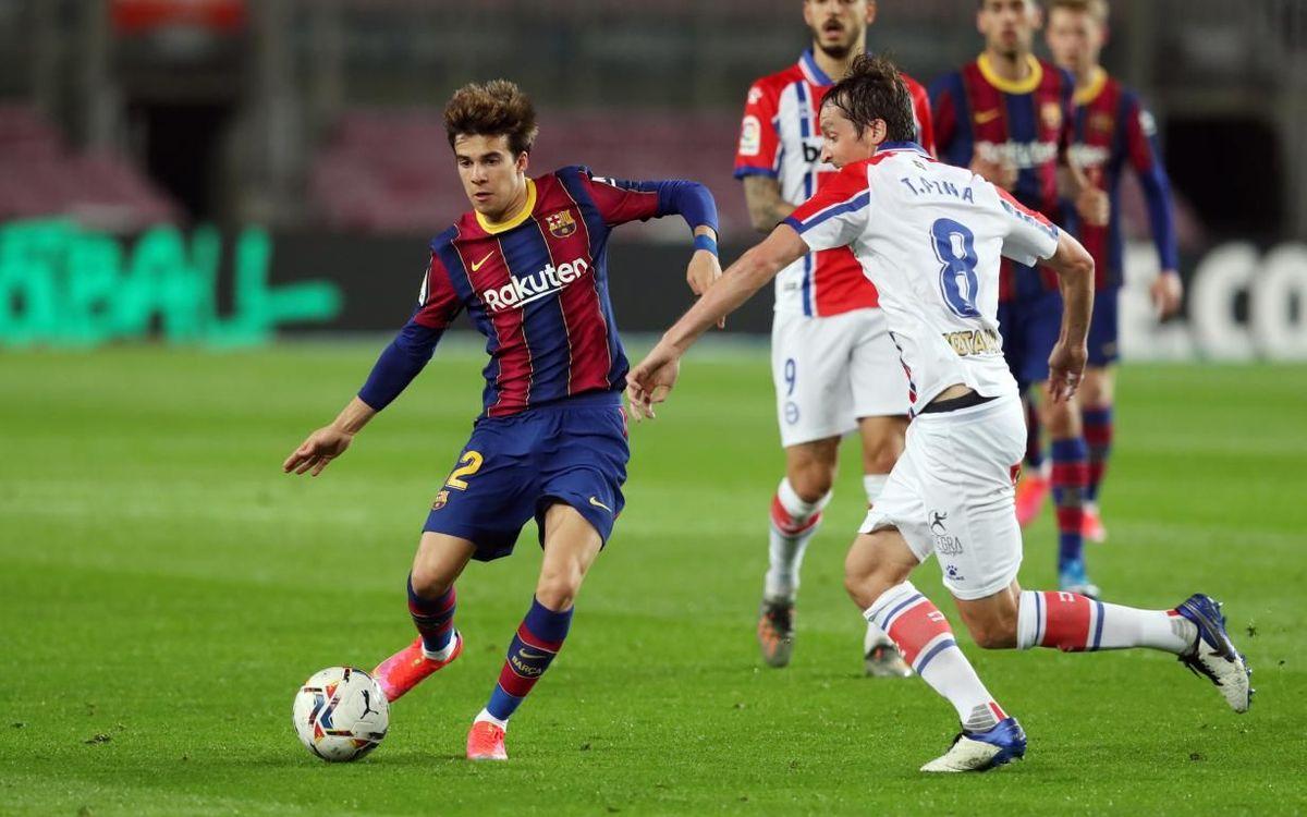 El Barça - Alabès ja té data i hora