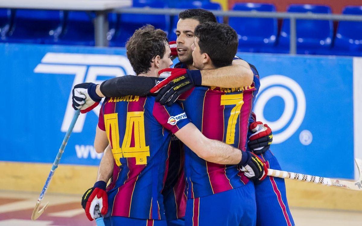 Barça 10-2 Vendrell: Massive win