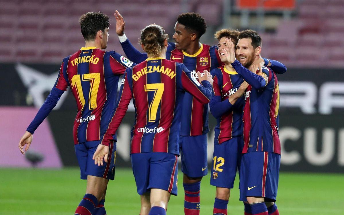 Barça – Alaves : Le plein de confiance (5-1)