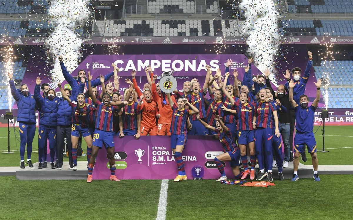 Women's football: Cup winners! (Barça 3-0 EDF Logroño)