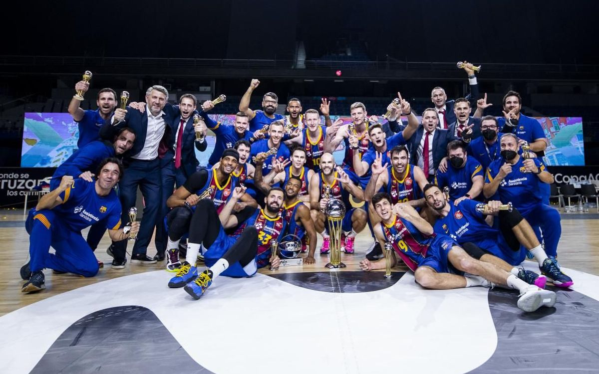 Real Madrid 73–88 Barça: Copa del Rey champions!