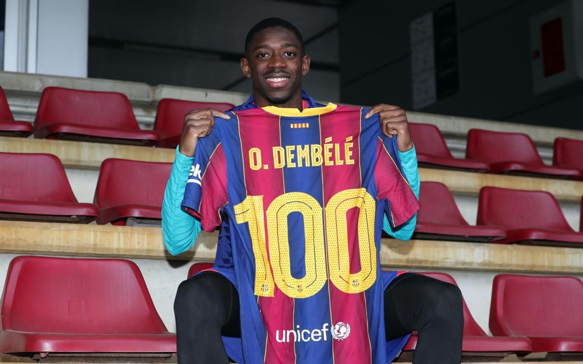 Dembélé: 'We face one of the favourites to win the Champions League'