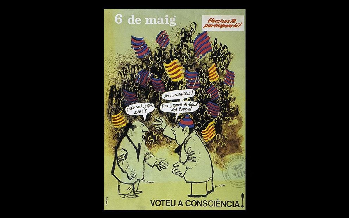 Barça and democracy (1978-2003)