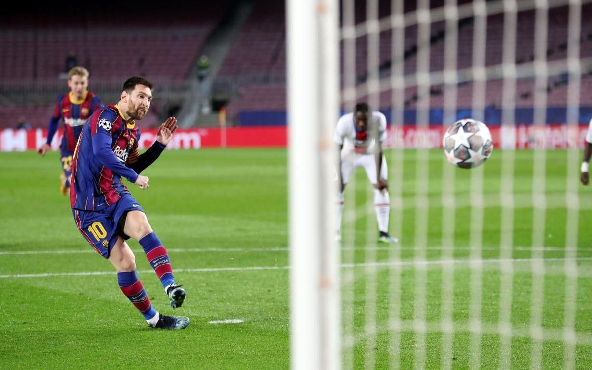 Messi: 28 buts en 8èmes de finale de la Ligue des Champions