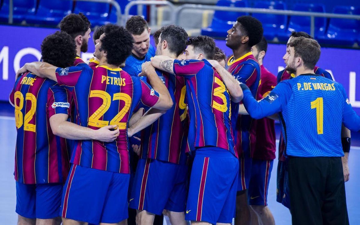 Barça 30-29 HBC Nantes: Classy comeback