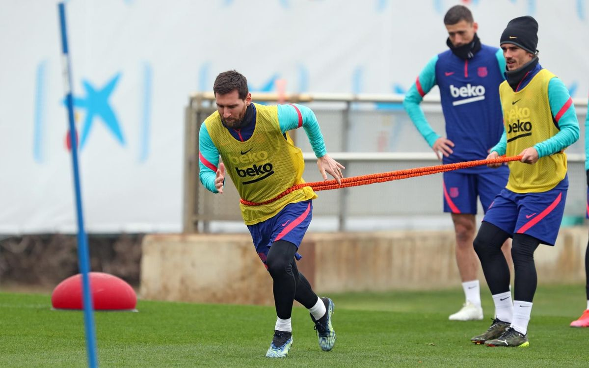 Return to training with thoughts turning to Cádiz