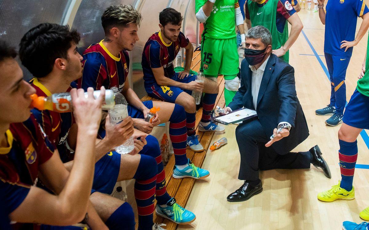 """Xavi Closas: """"Hem complert part de l'objectiu"""""""