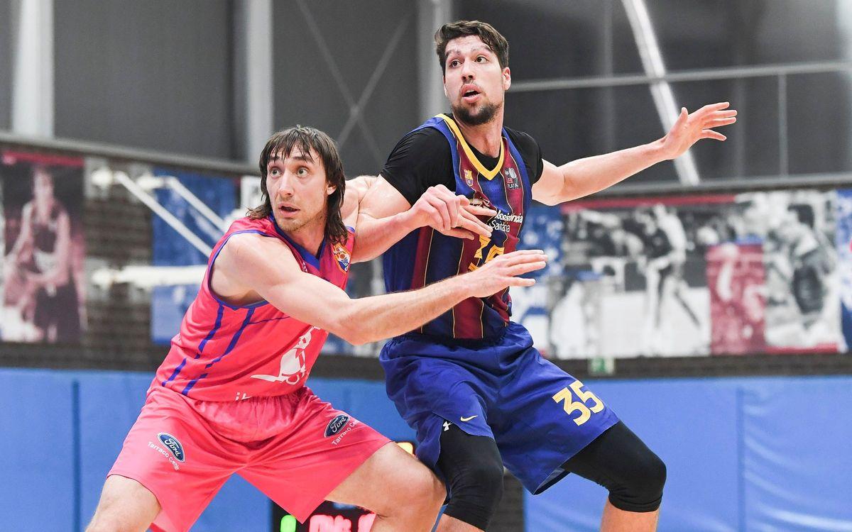 Barça B – Ibersol CB Tarragona (74-61): Tornen amb força