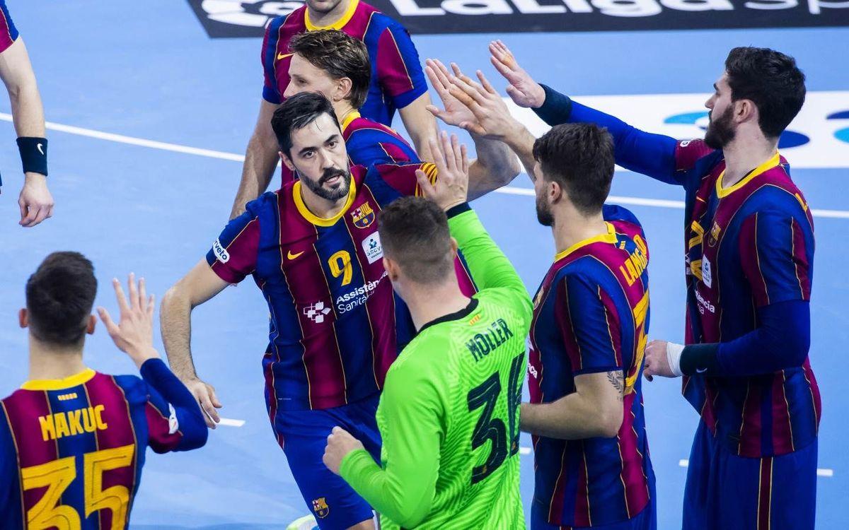 Barça – Logroño La Rioja: Avantsala de l'encreuament de Copa