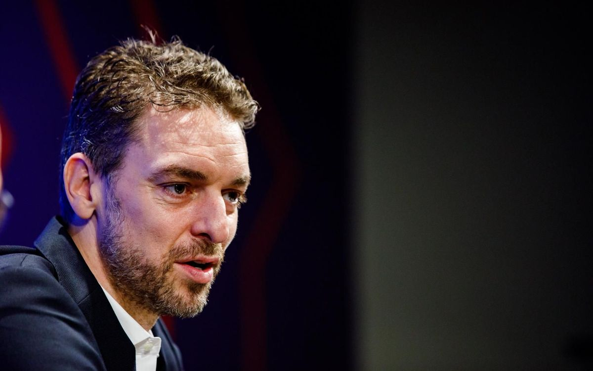 Pau Gasol arrives in Barcelona