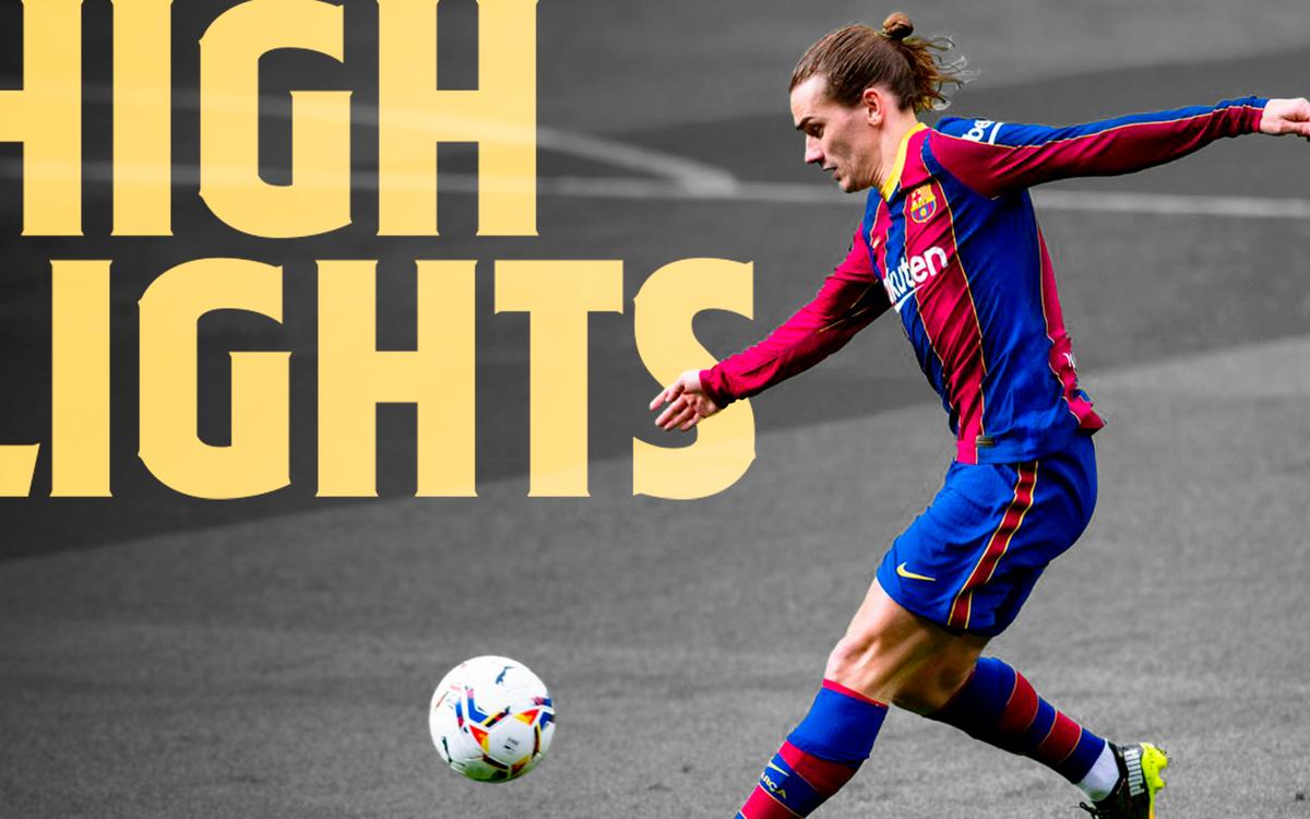 Les moments de Barça - Cadix (1-1)