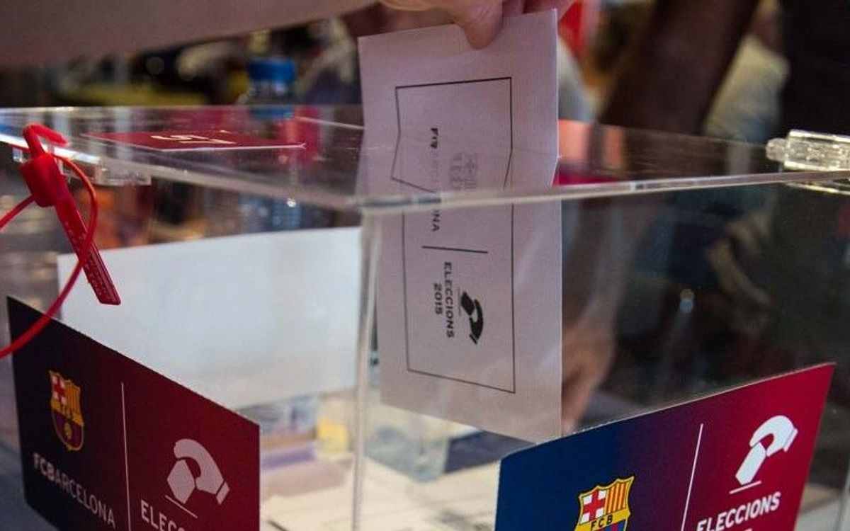Members can request a change of polling station until Wednesday