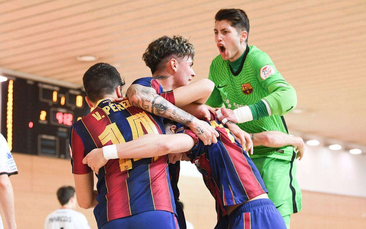 El Barça B ja coneix el calendari per a la fase d'ascens