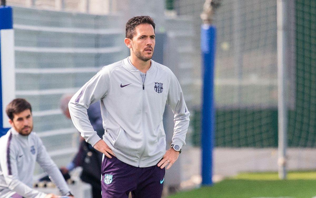 Sergi Milà, nou entrenador del Juvenil A