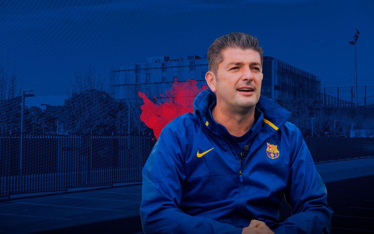 Franc Artiga deixa de ser l'entrenador del Juvenil A