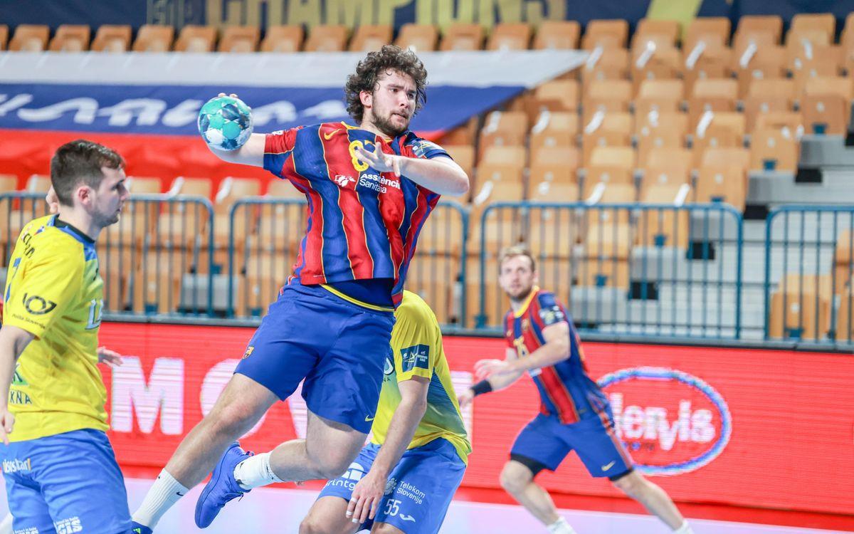 Celje Pivovarna Lasko - Barça: La victoria como máximo exponente (29-32)