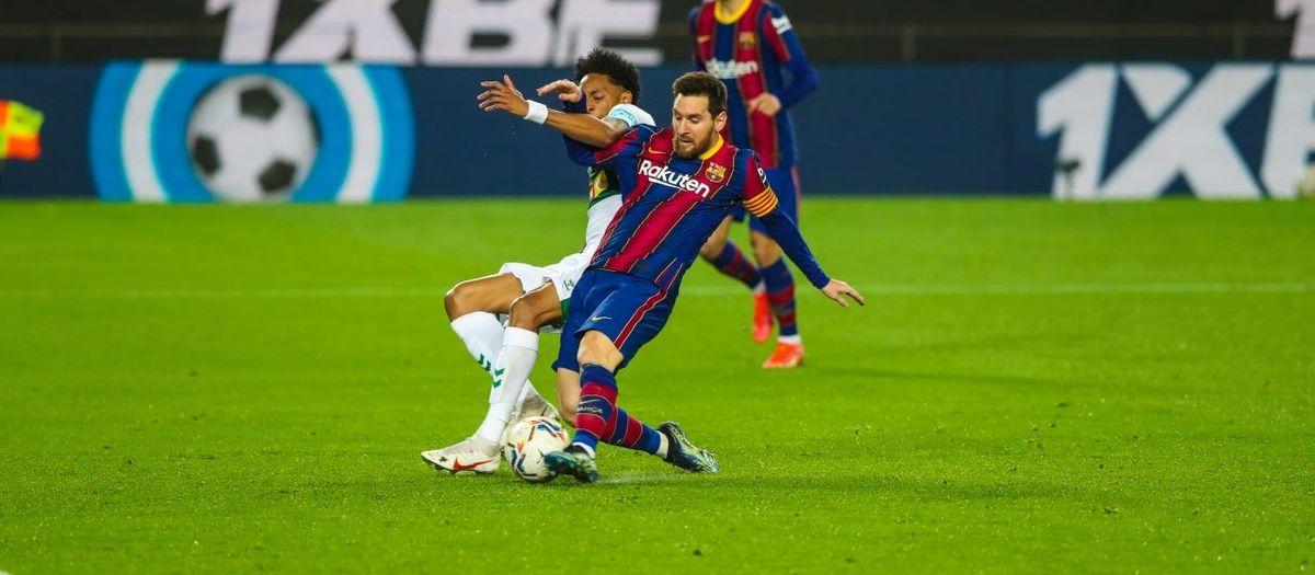 Messi ya es Pichichi en solitario