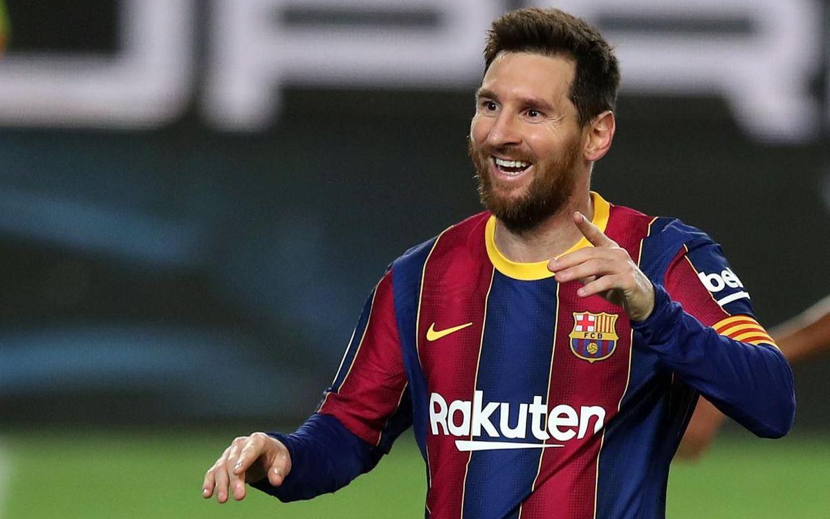 Leo Messi, 29 goles en finales