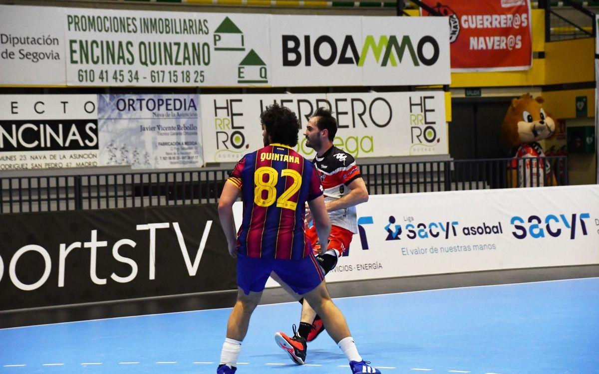 Viveros Herol BM Nava 21-45 Barça: Impressive win to end the month