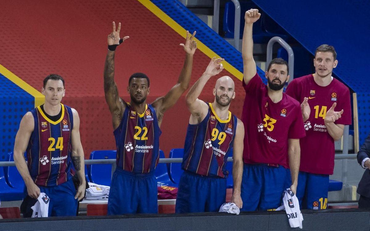 El Barça s'assegura el primer lloc de la Lliga Regular