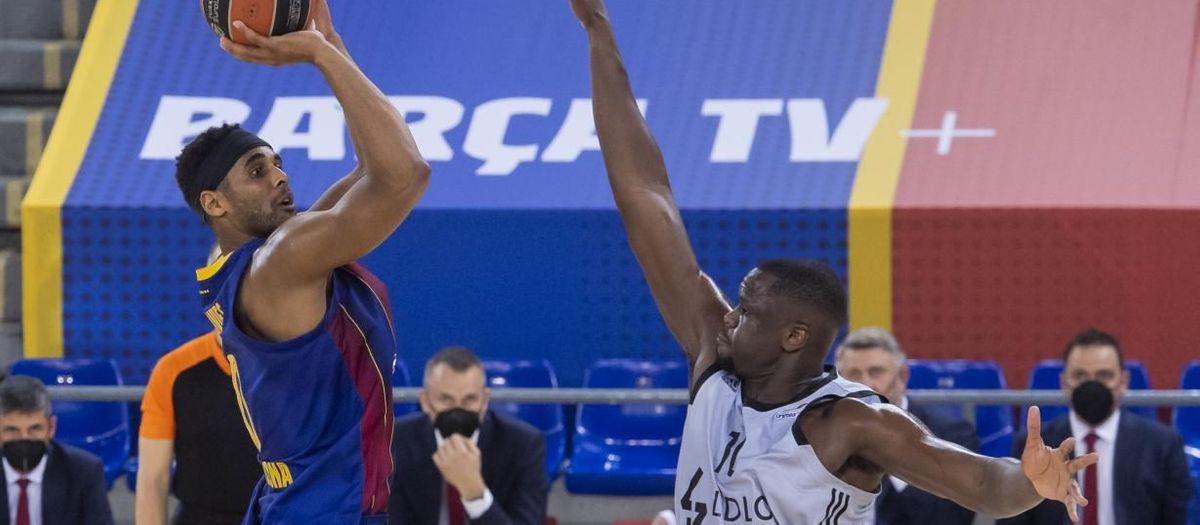 Barça - Asvel: La falta de acierto condena a los azulgrana (69-76)