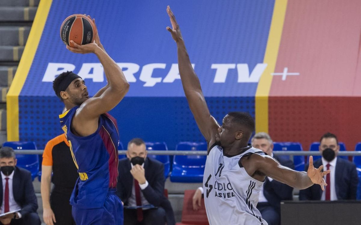 Barça 69-76 Asvel: Run of wins comes to an end