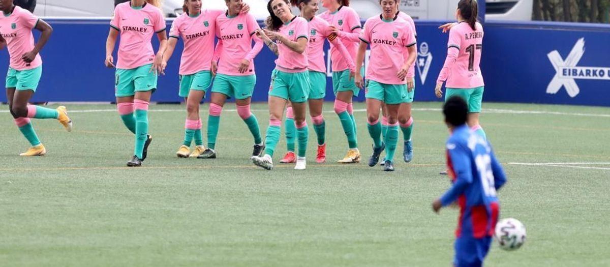 Eibar 0-3 Barça Women: Yet another win!