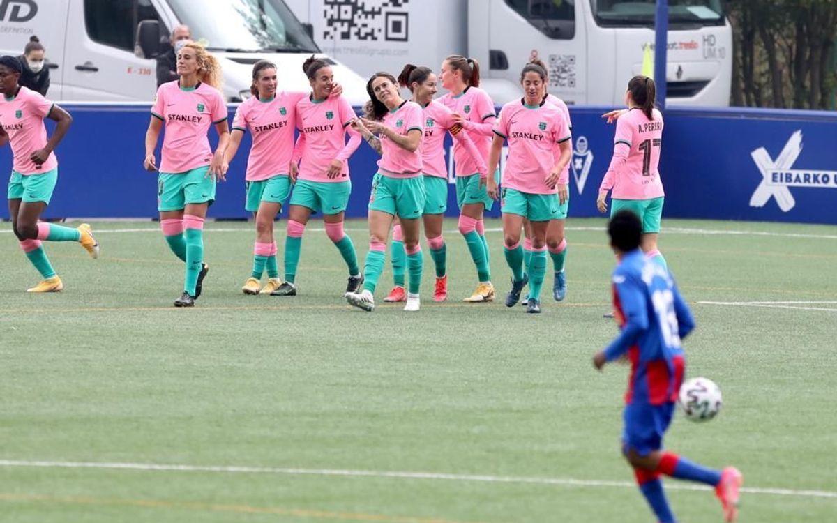 Eibar - Barça: Esculpeixen un nou triomf (0-3)