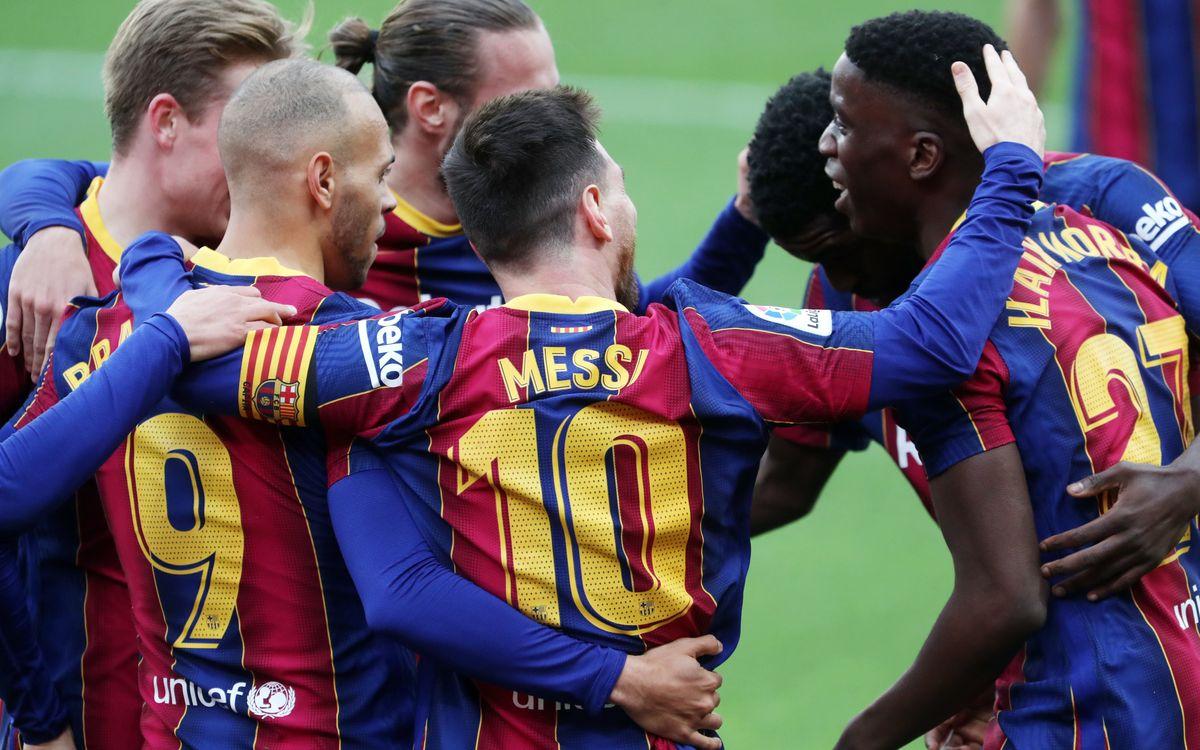 Séville - Barça : Précieux succès (0-2)