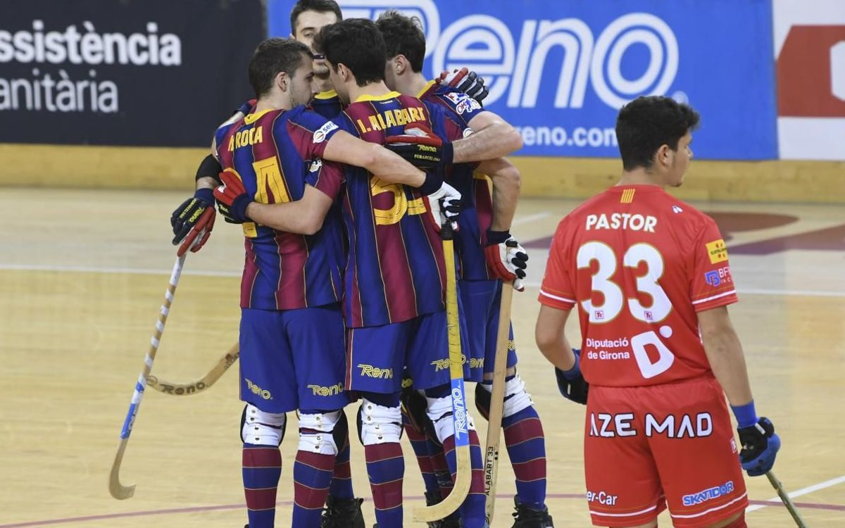 Barça 9-1 Garatge Plana Girona: Leaders unstoppable