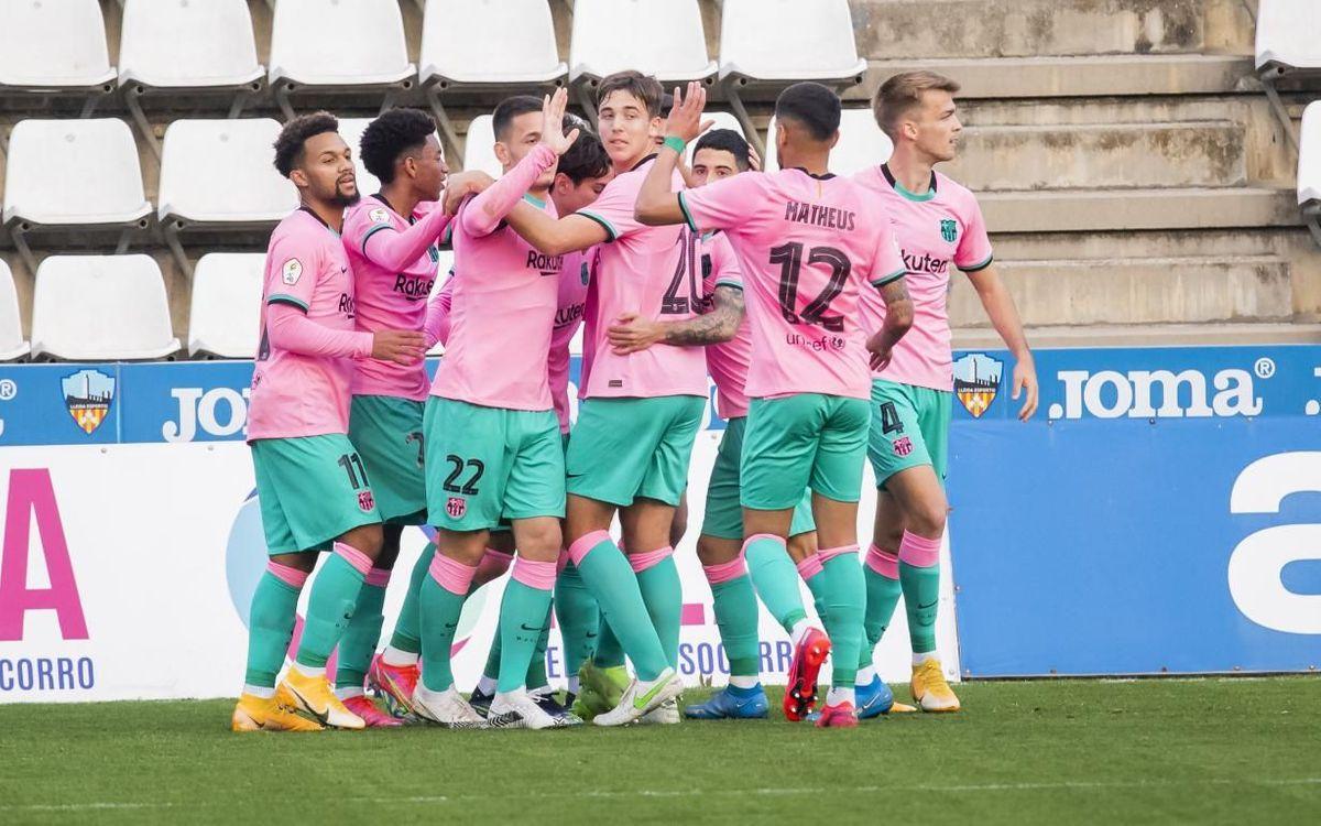Lleida - Barça B: Gran victoria de prestigio (0-1)