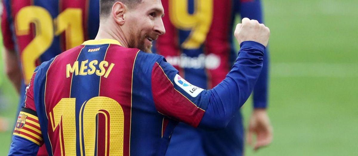 Leo Messi, el millor jugador del mes de febrer