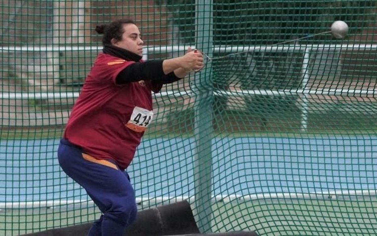 Laura Redondo, segona atleta espanyola que supera els 70 m en martell