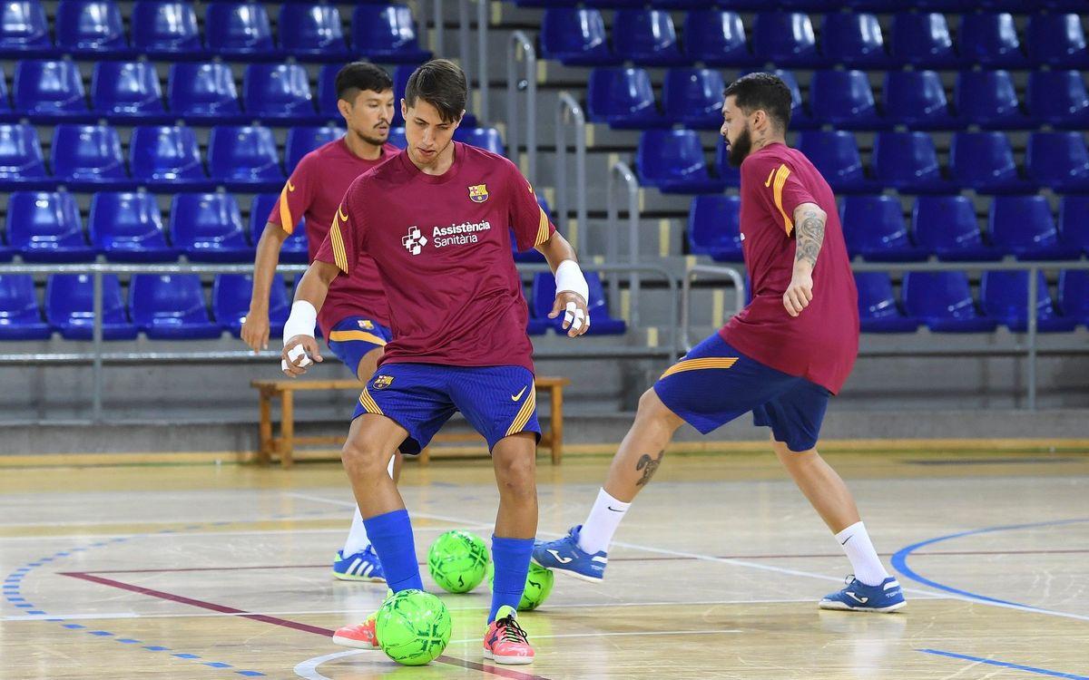 El Barça carga pilas aprovechando el parón