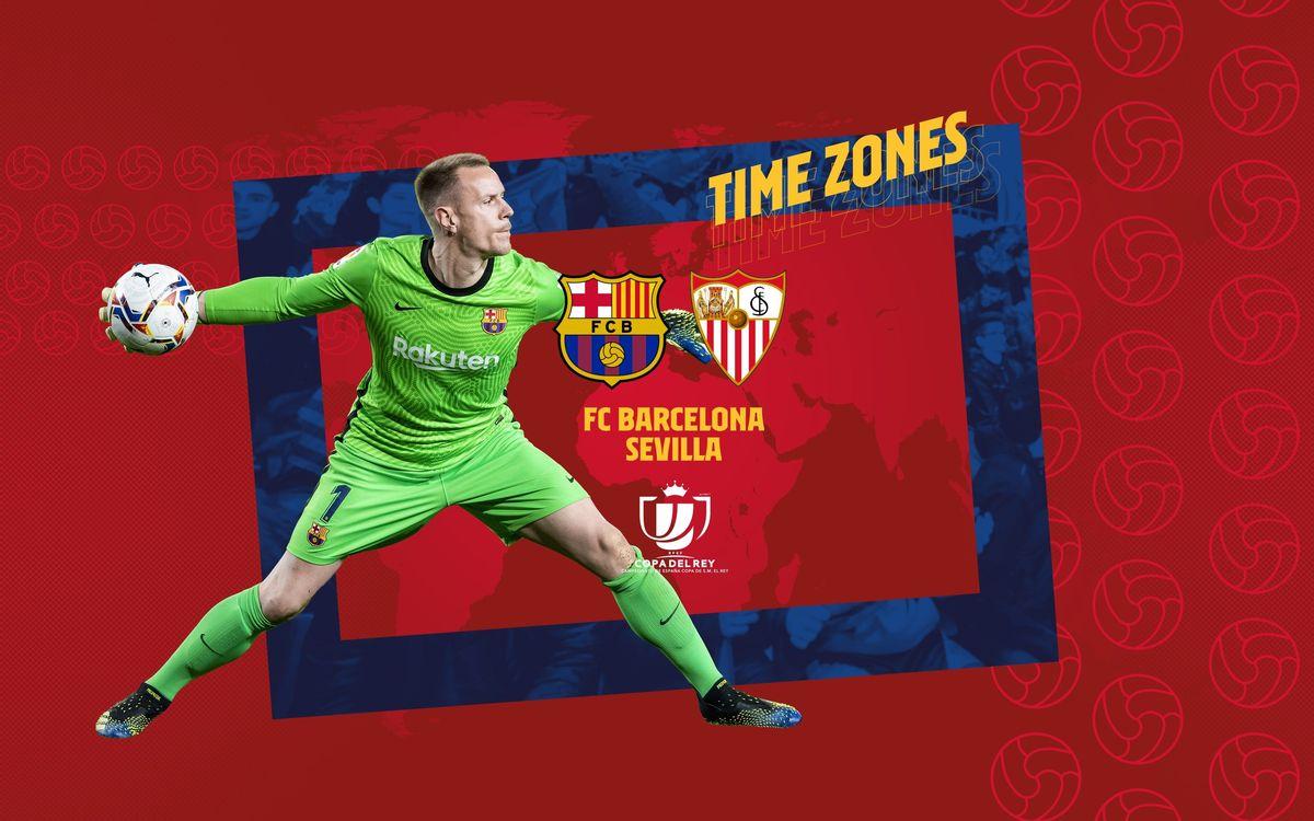 Où et quand voir Barça - Séville